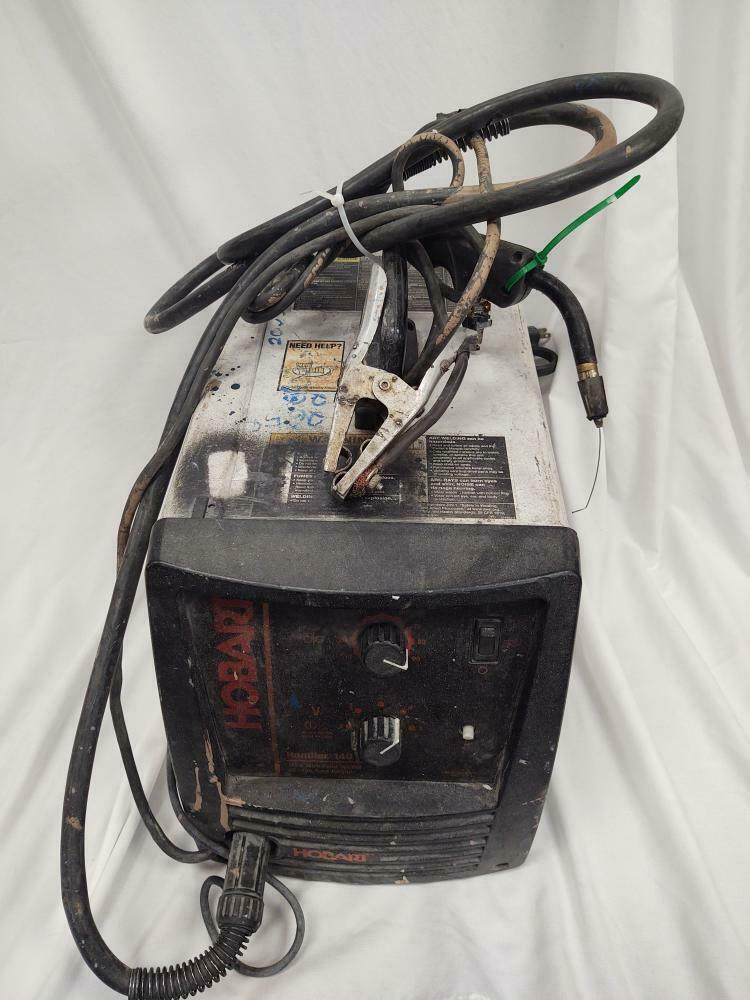 HOBART HANDLER 140 mig welder ground cable broken. acceptable. (MP3051026). Available Now for 189.99