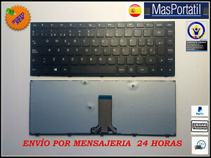 Tastiera-Spagnolo-Nuovo-Portatile-Lenovo-Ideapad-300-14ISK-MP-13P86D0-686-TEC36