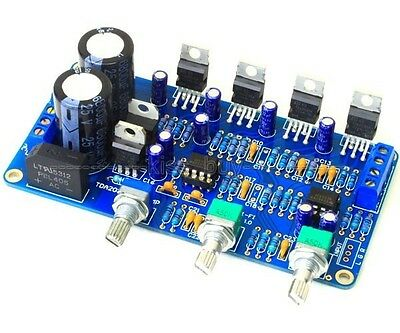 TDA2030A 2.1 Stereo Amp 2 Channel Subwoofer Audio Amplifier Board DIY kits 12V