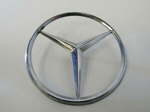 Details about ⚙0421⚙ Mercedes-Benz W123 230E Chrome Badge Logo Emblem Rear  Boot 1237480058