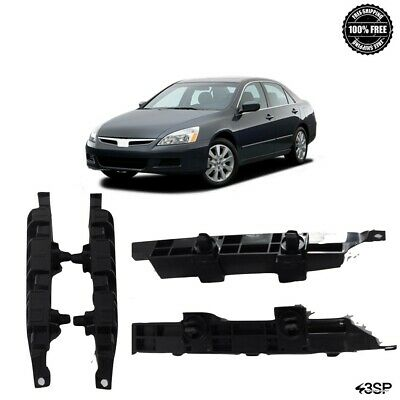 Bumper Retainer Set For 2006-2007 Honda Accord Side Spacer Front Plastic 2-Pcs