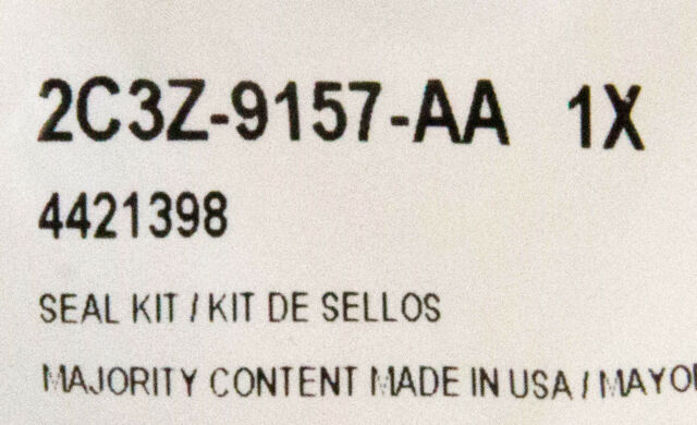 Seal 2C3Z-9157-AA Genuine Ford Retainer