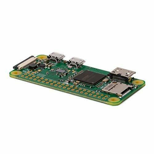 Raspberry Pi Zero W Board 1GHz CPU 512MB RAM with Built-in WIFI & Bluetooth