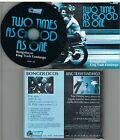 Bongolocos And King Trash Fandango ‎– Two Times As Good As One CD 1997