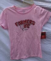 Farmers Wife Pink Tee Shirt International Harvester Case Size Small S