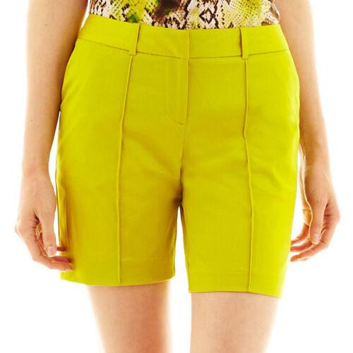 8 Worthington Polynesia Citronelle Shorts Size 6 18 New MSRP $38.00 14