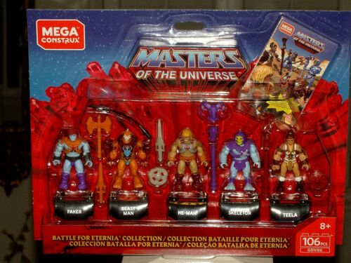 Masters of the Universe MCX Heroes Collector/'s Edition Mini-Figure 5-Pack