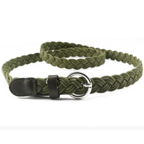 Women/'s Vintage Belt Thin Weave Braided Waistband Beautifully Made Belt Rope