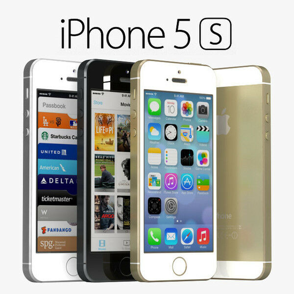 Apple iPhone 5S 32GB GSM Unlocked - Space Gray / Silver / Gold IOS Smartphone
