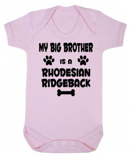 es un Ridgeback de Rodesia Azul o Rosa Baby Body o Mi hermana hermano mayor