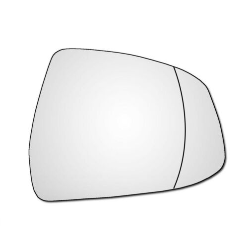 Right Han Driver Side Ford Focus Mk3 2008-2018 Wide Angle Wing Door Mirror Glass