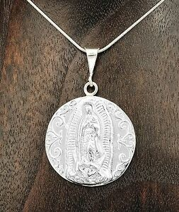 Artisan-Mary-Virgin-of-Guadalupe-Medallion-Pendant-from-Taxco