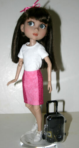 """Travel Adventure Doll Clothes Sewing Pattern for 14/"""" Patience Tonner"""