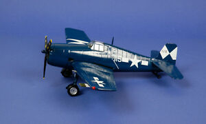 ARMOUR-FRANKLIN-MINT-METAL-1-48-F6F5-HELLCAT-VF83-USS-ESSEX-98172-B11B310