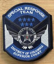 US Marshals Service - DC Superior Court SRT Team FC+V-Genuine *Kokopelli Patch*