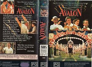 AVALON-Barry-Levinson-VHS-PAL-NEW-Never-played-Original-Oz-release