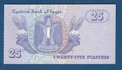 Lot of 5 Bank Notes from Egypt 25 Piastres Uncirculated