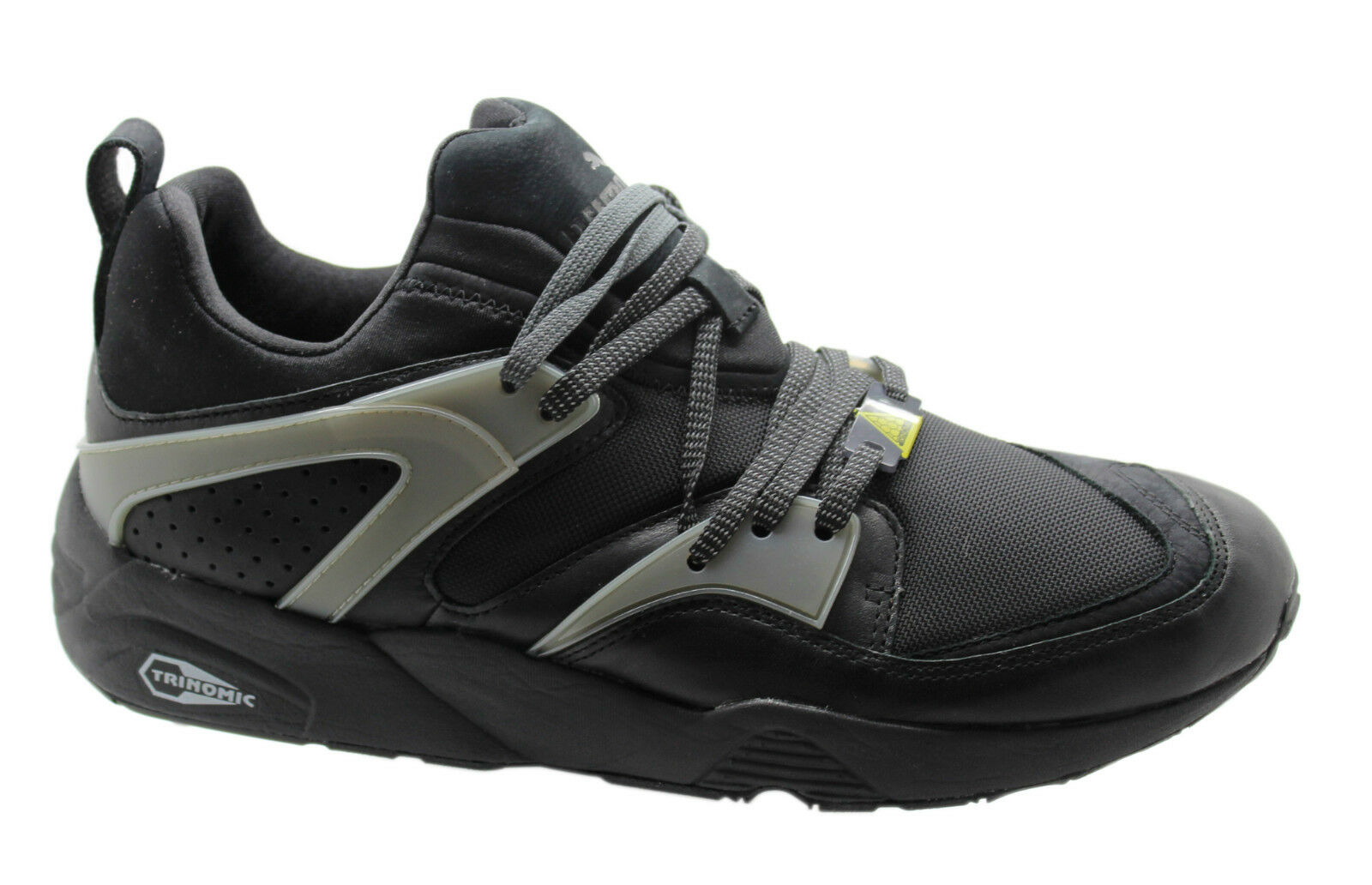 Puma Trinomic Blaze of glory scarpe in pelle mens FORMATORI NERO 358818 01 U96 The latest discount shoes for men and women