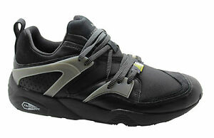 Puma Trinomic Blaze of glory scarpe in pelle mens FORMATORI NERO 358818 01 U96