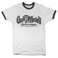 GARAGE CUSTOM PIMP MONKEY LUBE OIL GAS NOS NITRO MECHANIC MOTOR CAR T SHIRT