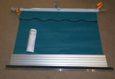 """DOMETIC Elite Window Awning Teal Solid Silver 45"""" Fabric Camper A5"""