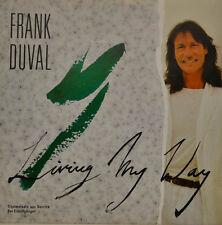 """Frank Duval-Living MY WAY single 7"""" (i902)"""