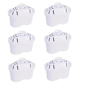 Universal-Pack-of-6-Water-Filter-Cartridges-For-Brita-Maxtra-Water-Jugs
