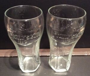 Fosters Pint Glasses x2 CE Marked New And Unused