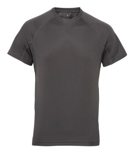 Tri Dri TR011 Men/'s TriDri Panelled T-Shirt Daily Sports Comfort Wear Shirt Top