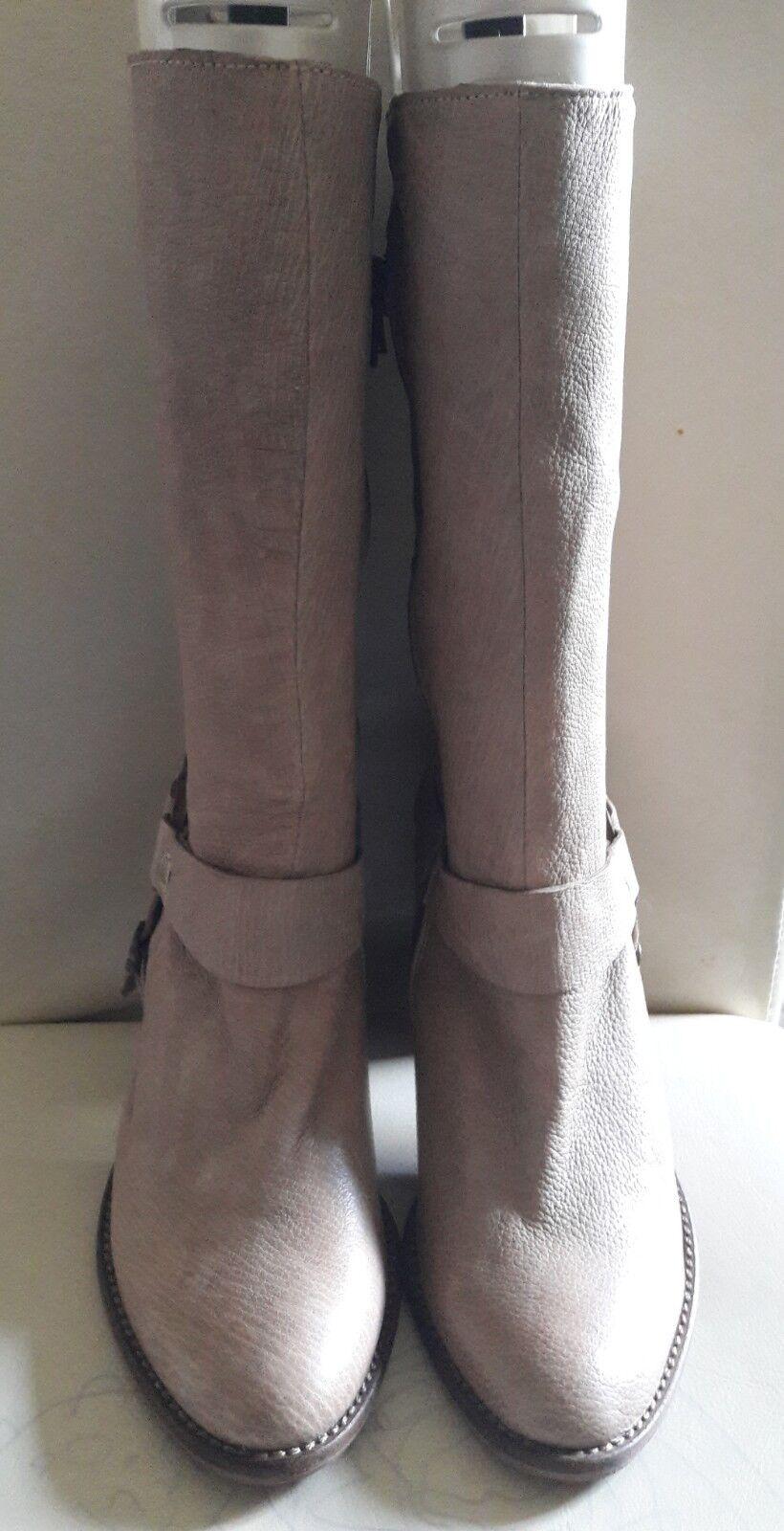 Pied A  italian Terre Vero Cuoio Braun italian  calf Stiefel ce3ef0