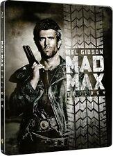 Mad Max Trilogie - Limited - Steelbook-Edition (Blu ray) -  NEU in Folie