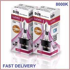 2 x D2R LUNEX XENON HID 8000K LAMPADINE compatibile con 85126 66050 66250 UPT