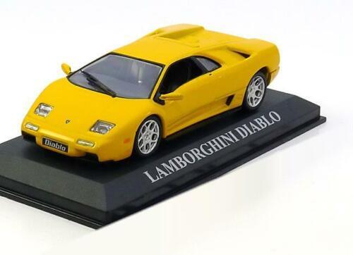 1:43 Altaya Lamborghini Diablo 1990 yellow