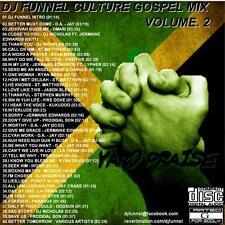 DJ FUNNEL  REGGAE CULTURE GOSPEL MIX CD VOLUME 2