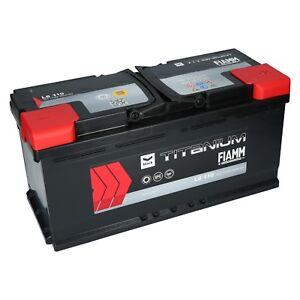 autobatterie starterbatterie fiamm titanium 12v 110ah. Black Bedroom Furniture Sets. Home Design Ideas