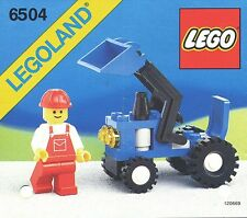 LEGO Town Tractor (6504) (Vintage)