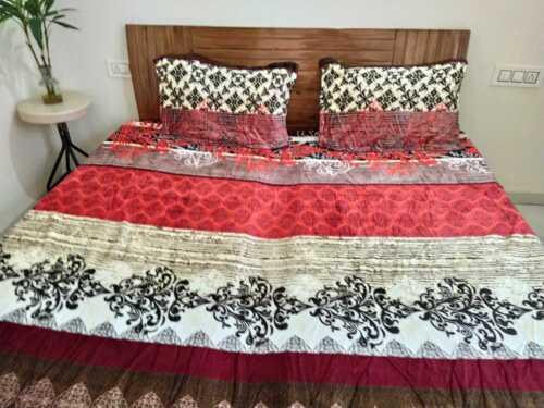 Double Fleece Blanket woolen bedsheet Fleno bed sheet King Size Pillow Covers