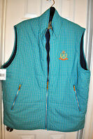 $98 Cavi Reversible Crested All Weather Mens Vest Size 3xl