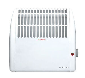 500 watt low energy compact frost protection convector heater with thermostat ebay for Th 450 termostato
