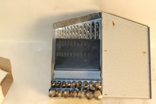 Century Drill and Tool Company High Speed Drill Set 1//16-1//2