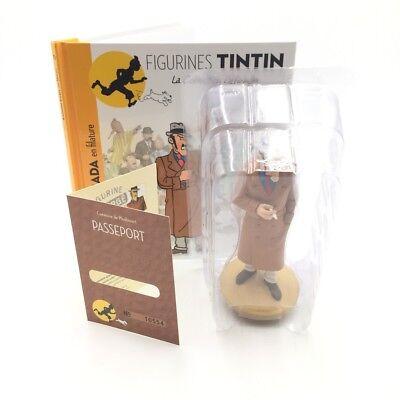 figurine tintin n103 WRONZOFF collection officielle coque plastique neuve