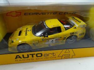 01:18 Autoart # 80207 Chevrolet Corvette Rse 2002 Alms Route # 4 -