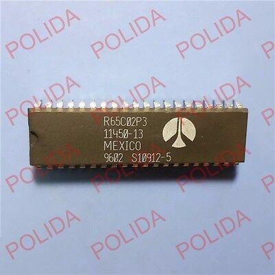 1PCS Microprocessor IC ROCKWELL DIP-40 R65C02P4 11450-14 R65C02P4E