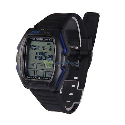 Mutifunction LCD Digital Touch Screen Panel Remote Control TV DVD Sports Watch