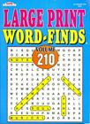 4 Large Print Word-finds Vol 217 - 220 Word Search by Kappa Size 8x10