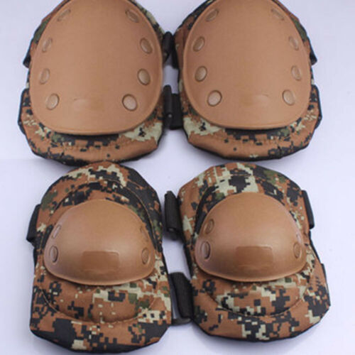 Outdoor Tactical Military Elbow Knee Pads Skate Combat Protect Guard Gear LA2