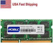 8GB 2x4GB Memory PC3-10600 DDR3-1333MHz SODIMM DELL Latitude E6420 BULK LOT