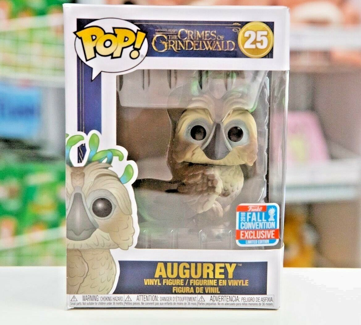 NYCC LIMITED EDITION EXCLUSIVE Funko POP    Fantastic Beasts  AUGUREY 8ef3aa