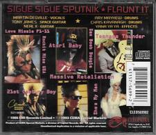 "SIGUE SIGUE SPUTNIK - RARO CD STAMPA USA CLEO569902 "" FLAUNT IT """