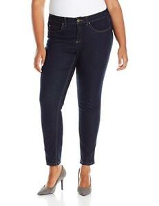 Rafaella-Blue-Jeans-Size-22W-Weekend-Skinny-Slimming-Stretch-Retail-72